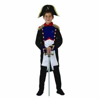 Franse generaal napoleon verkleedkleren voor jongens