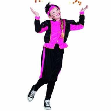 Fuchsia pieten verkleedkleren voor meisjes