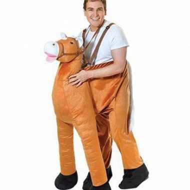 Funny instap paarden verkleedkleren