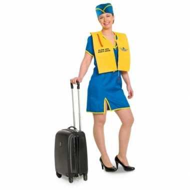 Funny stewardess verkleedkleren voor dames
