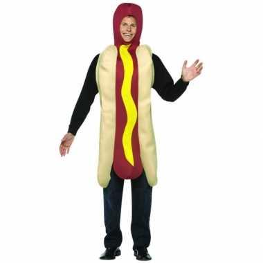 Funny verkleedkleren hot dog