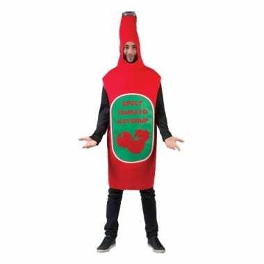 Funny verkleedkleren pak ketchup