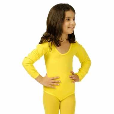 Gele kinder ballet verkleedkleren