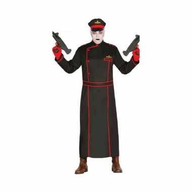 Gestapo verkleedverkleedkleren in het zwart