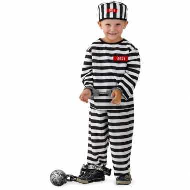 Gevangene verkleedkleren voor jongens