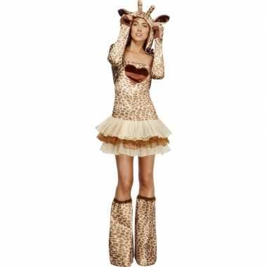 Giraf verkleedverkleedkleren voor dames