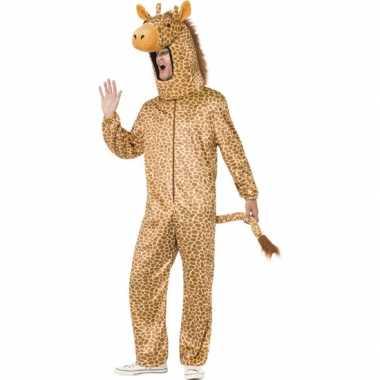Giraffe verkleedkleren voor volwassenen