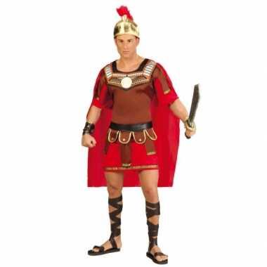 Gladiator verkleedkleren met helm voor heren