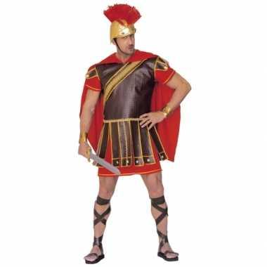 Gladiator verkleedkleren rood bruin heren