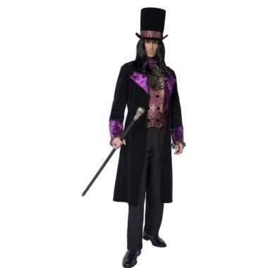 Gothic graaf verkleedkleren voor heren