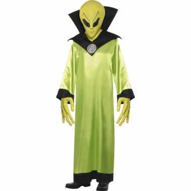 Groen alien verkleedkleren volwassenen