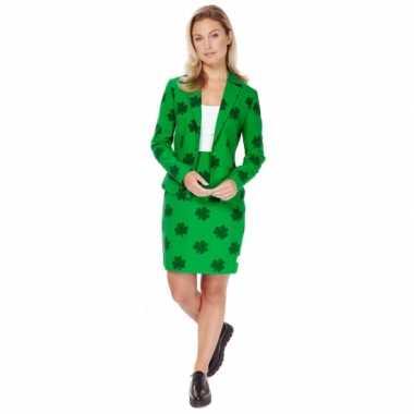Groen dames verkleedkleren st. patricks day