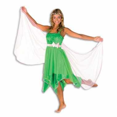 Groene elfen verkleedkleren dames