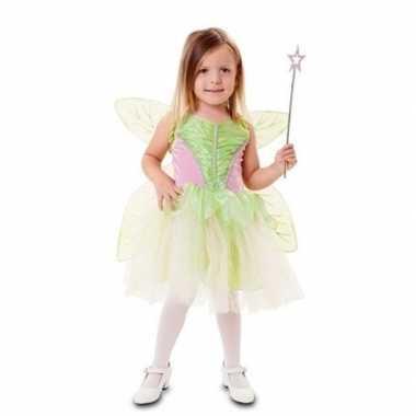 Groene fee verkleedkleren voor meisjes