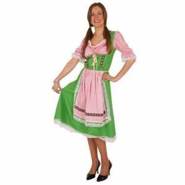Groene oktoberfest verkleedkleren voor dames
