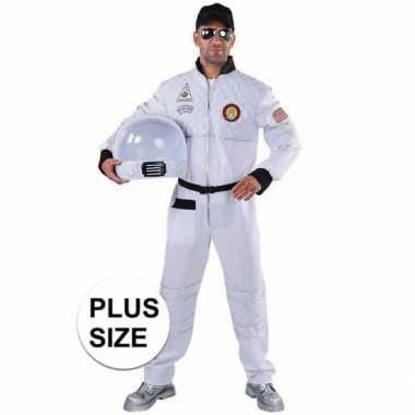 Grote maat astronaut verkleedkleren voor heren