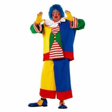 Grote maat clowns verkleedkleren voor heren