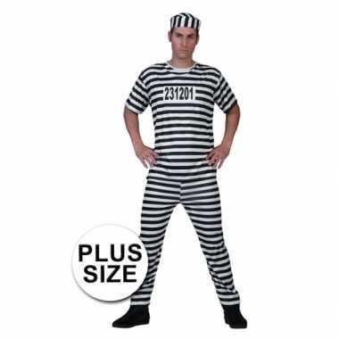 Grote maat gevangenen verkleedkleren