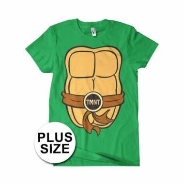 Grote maat heren ninja turtles verkleedkleren