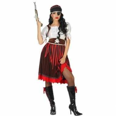 Grote maat piraat rachel verkleed pak/verkleedkleren voor dames