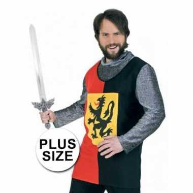 Grote maten ridder verkleedkleren