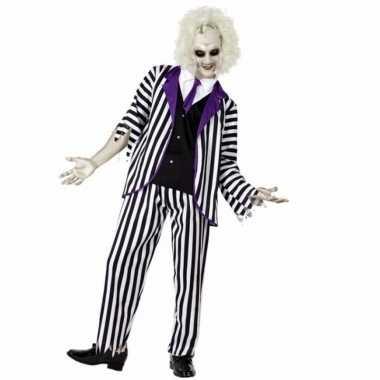 Halloween gestoorde man verkleedkleren voor heren
