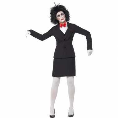 Halloween saw jigsaw dames verkleedkleren