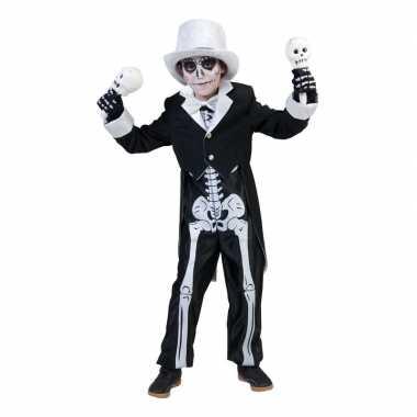 Halloween skelet verkleedkleren voor jongens