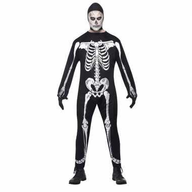 Halloween skelet verkleedkleren voor volwassenen