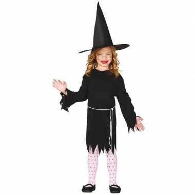 Halloween zwart heksen verkleedkleren budget voor meisjes