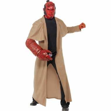 Hellboy verkleedkleren 4 delig