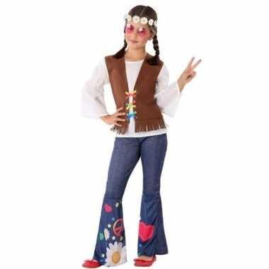 Hippie/flower power verkleedkleren voor meisjes