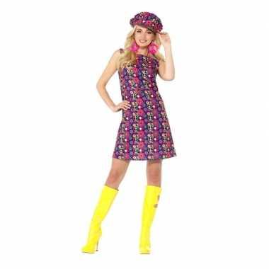Hippie peace sixties verkleedkleren voor dames