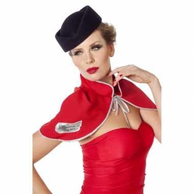 Hoedje voor bij een stewardes verkleedkleren