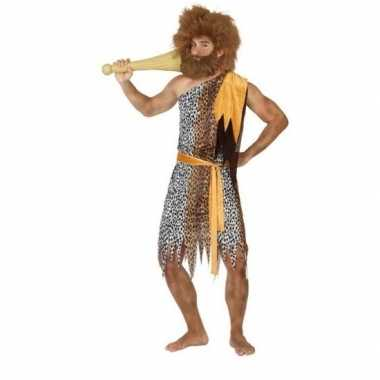 Holbewoner/caveman alley verkleedkleren heren