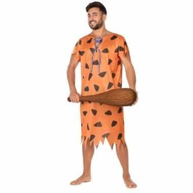 Holbewoner/caveman fred verkleedkleren voor heren