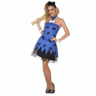 Holbewoonster/cavewoman betty verkleedkleren/jurk voor dames