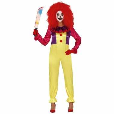 Horror clown freak verkleedkleren voor dames