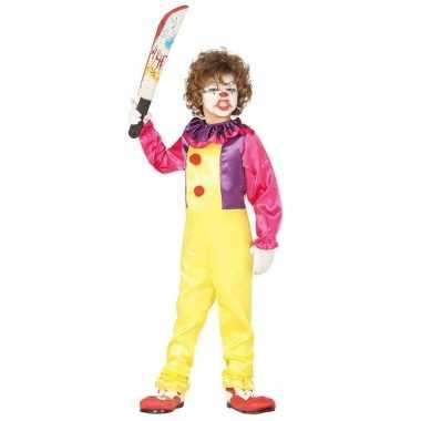 Horror clown freak verkleedkleren voor kinderen