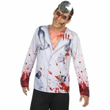 Horror dokter verkleedkleren voor heren