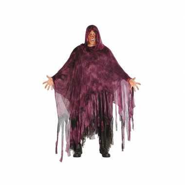 Horror duistere man verkleedkleren paars