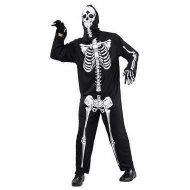 Horror skelet verkleedkleren voor volwassenen