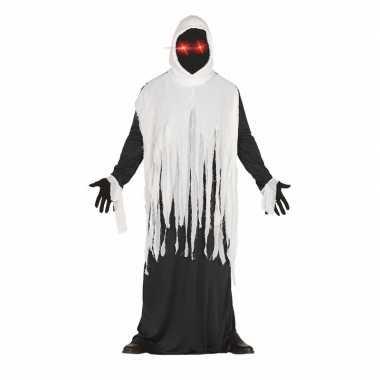 Horror spook verkleedkleren met lichtgevende ogen