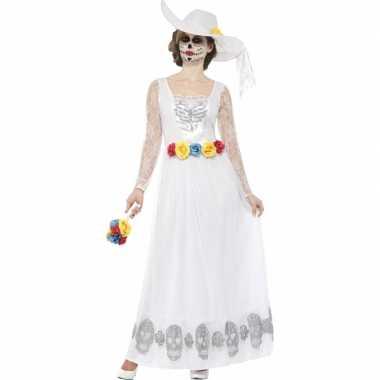 Horror verkleedkleren bruidsjurk