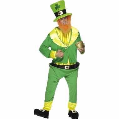Ierse dwerg verkleedkleren groen