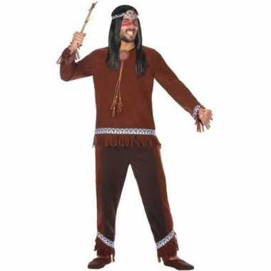 Indianen choctaw verkleed pak/verkleedkleren voor heren