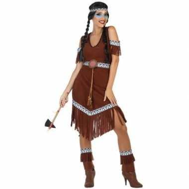 Indianen nahele verkleed pak/verkleedkleren voor dames