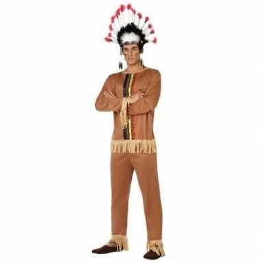 Indianen pallaton verkleed pak/verkleedkleren voor heren