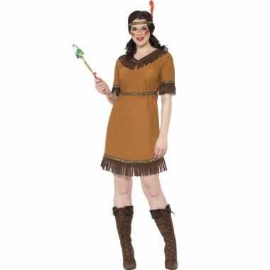 Indianen verkleedkleren jurk voor dames