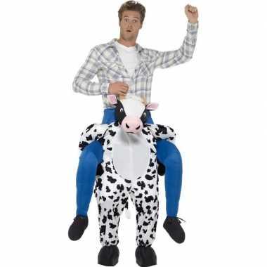 Instapverkleedkleren koe voor volwassenen